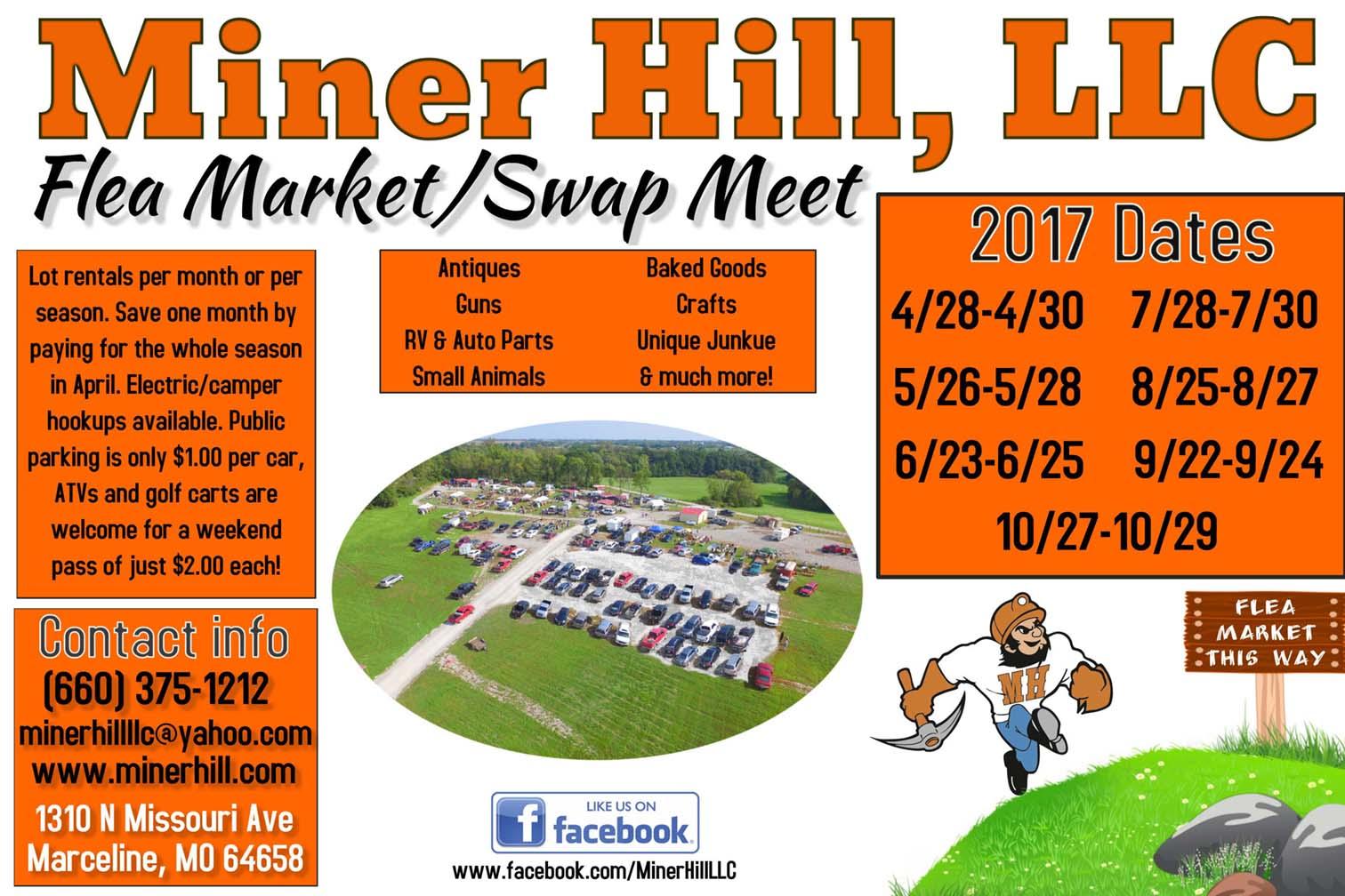 Miner Hill 2017 Flyer